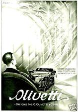 OLIVETTI-tocco leggerissimo-FANTASMA-segretario-1928.