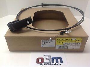 Chevrolet C/K Silverado Tahoe GMC C/K Sierra Yukon Hood Release Latch Cable OEM