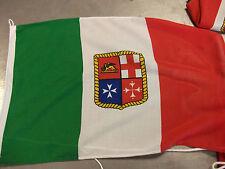 BANDIERA MERCANTILE ITALIANA IN POLIESTERE PESANTE 40X60 MM