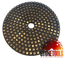 "4"" Vitrified Diamond Polishing / Grinding Pad - METAL DOT"