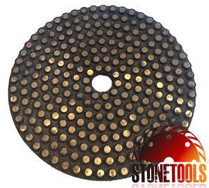 "5"" Vitrified Diamond Polishing / Grinding Pad - METAL DOT"