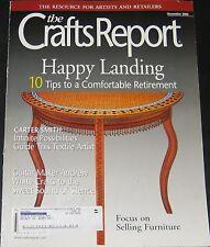 The Crafts Report Magazine November 2006