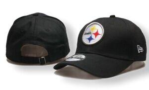 NEW ERA 9FIFTY  Pittsburgh Steelers  black adjustable cap/ hat NFL