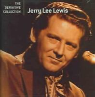 JERRY LEE LEWIS - THE DEFINITIVE COLLECTION NEW CD