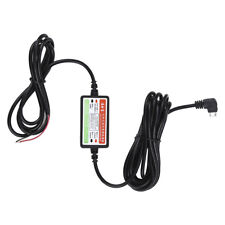Hard Wire Kit 12V to 5V Adapter Micro USB Power Cord For Mini 1/2 Dash Cam DVR