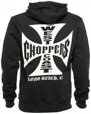 West Coast Choppers - WCC OG Cross Hoodie - Schwarz