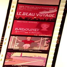BADOUNET_Lot 10 Ancienne Bobines Films fixe 35/mm en Français