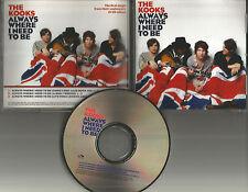 THE KOOKS Always Where I need to be w/ RARE MIX & LIVE TRK PROMO DJ CD Single