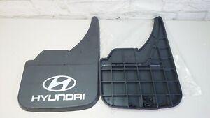 Universal Car Front Rear To Fit Hyundai Logo i10 i20 i30 i40 Mud Flaps Guard