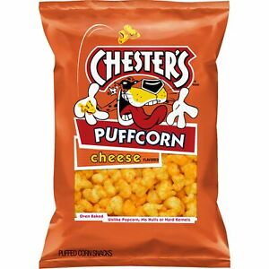 Chesters Puffcorn Cheese Flavored Popcorn, 4.25 Oz.