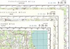 Russian Soviet Military Topographic Maps -  ESTONIA, scale 1:100 000 (set)