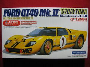 Ford GT40-1012 Mk II '67 Daytona Racing 1/24 Fujimi Japan Model Kit Mark 2 1967