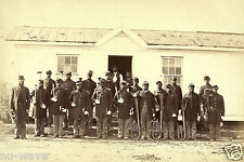 1865 Civil War African American Soldiers with Musical Instruments-Arlington, VA