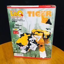 Free Postage New LaQ Animal World Tiger - 4-in-1 Tiger Orangutan Squirrel Tapir