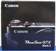 Canon PowerShot G7 X Mark II (Black) 20.1MP Digital Camera