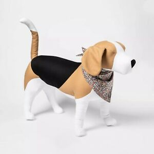 Boots & Barkley- Floral Tie Pet Dog Bandana, One Size Fits Most