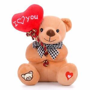 Plush Teddy Bear with Heart I Love You Teddy Bear Christmas Gift