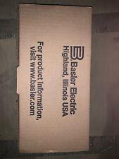 Brand New Basler Electric BE2000E Digital Voltage Regulator  DVR2000