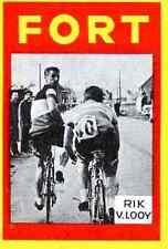 RIK VAN LOOY Cyclisme Cycling FORT Chromo card Wielrenner ciclismo Cycliste #11