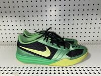 Nike Kobe Mentality GS Boys Youth Basketball Shoes Size 6.5Y Neon Green Black