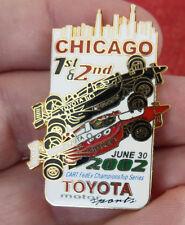 PIN'S F1 FORMULA ONE USA CART FEDEX SERIES 2002 CHICAGO TOYOTA EGF MFS