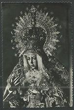 Postal antigua Virgen Macarena andachtsbild santino holy card santini