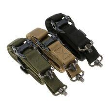 2 Point Sling Rifle Shoulder Adjustable Strap Tactical Quick Detach QD Mount
