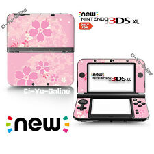 [new 3DS XL] Sakura Cherry Blossom #1 Pink VINYL SKIN STICKER DECAL COVER