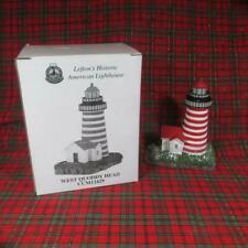 Lefton's Historic American Lighthouse, West Quoddy Head, Me, Mint in Box, 1999