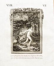 1822 Ovid Metamorphosen Arethusa und Alpheios Original-Kupferstich