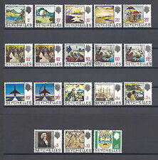 SEYCHELLES 1969-75 SG 262/79 USED Cat £48