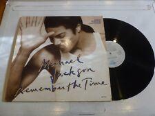 """MICHAEL JACKSON - Remember The Time - 1991 UK 6-track 12"""" vinyl single"""