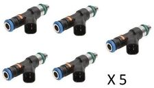 5x FORD FOCUS RS VOLVO S60R V70R 2.5T 04-10 ST UPGRADE 52LB 550CC FUEL INJECTORS