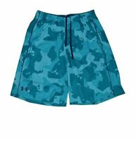 """NWT Under Armour Men's HeatGear 10"""" Loose Fit Shorts (Teal Green)"""