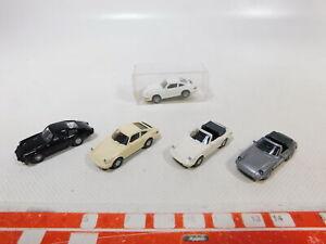 CA448-0, 5 #5x wiking 1:87/H0 Car Porsche: 164 Carrera 4+911+911 C Top + 1x