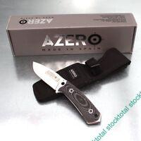 CUCHILLO SUPERVIVENCIA AZERO HOJA ACERO INOXIDABLE 239221