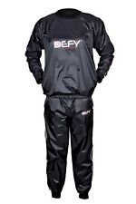 DEFY Heavy Duty Suit Weight Loss Sauna Sweat Suit Exercise Fitness Gym Anti-Rip