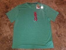 Nwt Mens Reebok Shirt Short Sleeved Green Shirt Speedwick Relaxed Fit Medium M