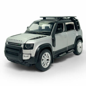 1:32 Land Rover Defender 110 SUV Model Car Diecast Gift Toy Vehicle Kids Silver