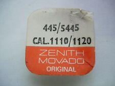 x2 piéce part Zenith Movado 445 / 5445 CAL.1110 / 1120 watch swiss 4B