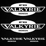 HONDA Valkyrie aufkleber inspiriert sticker XL set LKW auto decals Glas Fenster
