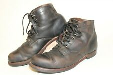 Wolverine 1000 Mile Mens 8.5 D Distressed Leather Short Ankle Work Chukka Boots