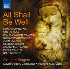 Roxanna Panufnik : All Shall Be Well CD (2012) ***NEW***