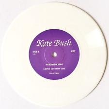 "KATE BUSH - Kate Bush Interview 1986 (7"") (White Vinyl) (EX/NM)"