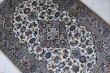 "Vintage Handknotted Turkish Oushak Area Rug 143x103cm,56""x40"""