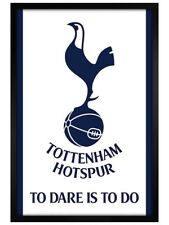 More details for tottenham hotspur fc thfc framed maxi poster to dare is to do 61x91.5cm