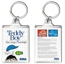 TEDDY BOY SEGA MASTER SYSTEM KEYRING LLAVERO