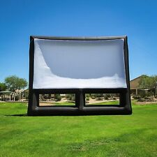 New Infl8 brand 36 X 20 foot Inflatable Movie Screen Front and Rear Projection