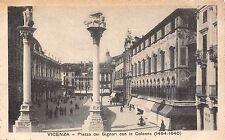 POSTCARD  ITALY    VICENZA    Piazza  dei   Signori