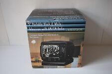 "5"" Promo King B&W Portable Tv / Radio Uhf Vhf Am Fm Ac / Dc Model Pk-4187 New"